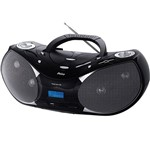 Som Portátil Estéreo C/ MP3 Entrada P/ Cartões de Memória e USB - PH229 - Philco