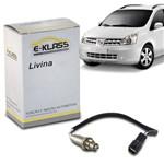Sonda Lambda Nissan Livina 2009 a 2014 Sensor Oxigenio Vetor Esl0103