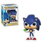 Sonic With Emerald - Sonic The Hedgehog - Pop! Funko #284