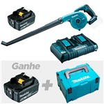 Soprador à Bateria+1 Bateria+Carregador+Brindes - DUB183Z -P-Makita