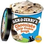 Sorvete de Pote Chocolate Chip Cookie Dough Ben & Jerry's 120ml