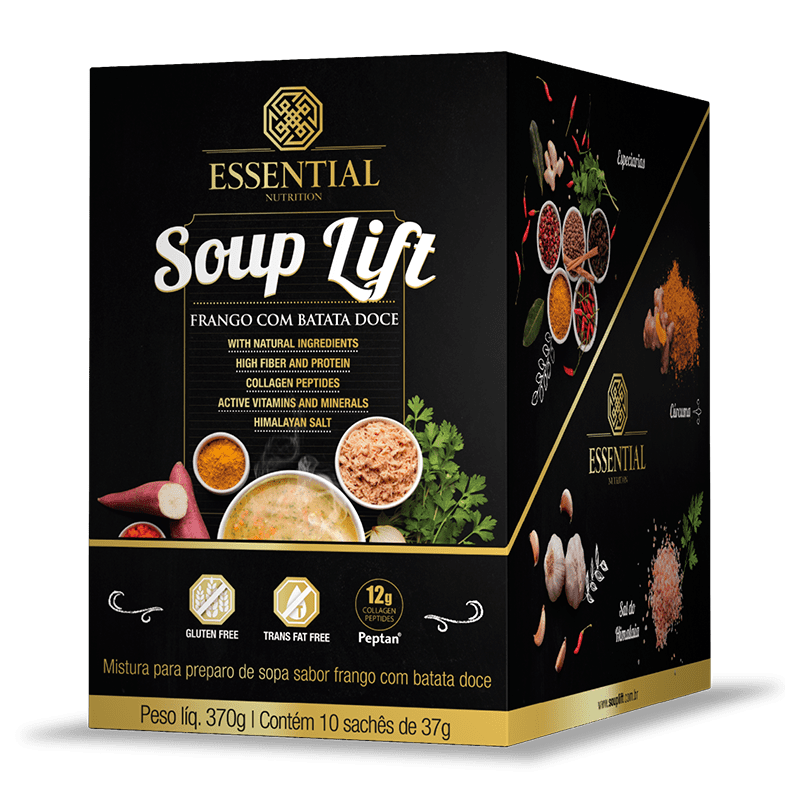 Soup Lift (10Sachês-31g) Essential Nutrition