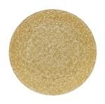 Sousplat Coupe Glamour Dourado