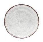 Sousplat de Melamina 36 Cm Branco