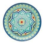 Sousplat Rendondo em Melamina Bon Gourmet Mandala 41cm