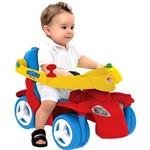 Spacecar Passeio Vermelho - Brinquedos Bandeirante