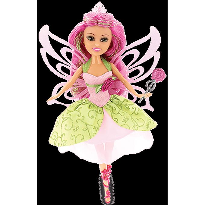 Sparkle Girlz - Boneca Fada das Flores com Acessórios - Bianca - DTC