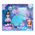 Sparkle Girlz Fada Star Fantasia - DTC