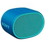 Speaker Sony Srs-xb01/lc com Bluetooth/auxiliar - Azul