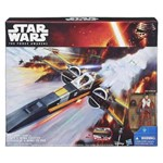 Star Wars Class Iii Luxo Episódio Vii X-wing Fighter Hasbro