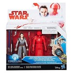 Star Wars Ep 8 Force Link - Hasbro - Rey Jedi/Guarda Pretorian