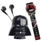 Star Wars - Rádio e Relógio - Dart Vader