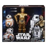 Star Wars - The Force Awakens - Kit com 3 Robôs - Hasbro B6449