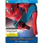 Steelbook - Blu-ray Duplo - Homem Aranha de Volta ao Lar