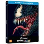 Steelbook - Blu-ray Duplo - Venom - Tom Hardy