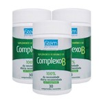 Stem Pharma Kit 3x Complexo B 30 Comp