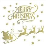 Stencil 30,5x30,5 OPA 2121 Merry Christmas