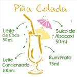 Stencil 30,5x30,5 OPA 2197 Drink Piña Colada