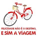 Stencil 30,5x30,5 OPA 2292 Bicicleta Felicidade