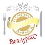 Stencil 30,5x30,5 OPA 2293 Bon Appetit