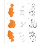 Stencil 20x25 OPA 2076 Peixe Palhaço