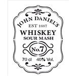Stencil 20x25 OPA 2085 Whiskey