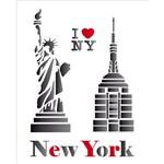 Stencil 20x25 OPA 1162 Cidades New York