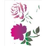 Stencil 20x25 OPA 1881 Flor Rosa