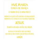 Stencil 20x25 OPA 2193 Rel. Oração Ave Maria