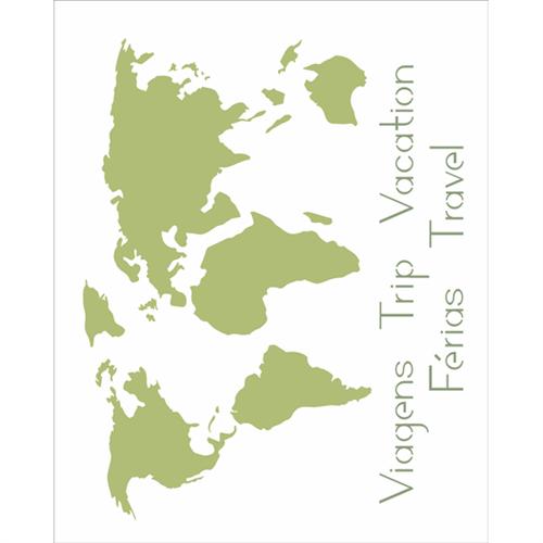 Stencil 20x25 OPA 2511 Mapa