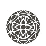 Stencil 20x25 OPA 2280 Mandala I Camada I