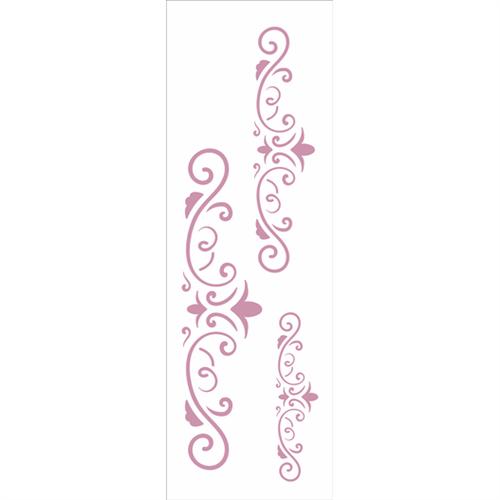 Stencil 10x30 OPA 2418 Arabesco Três Lanças