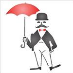 Stencil 10x10 Simples 1128 Cavalheiro Antigo