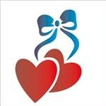 Stencil 10x10 Simples 214 Laço Coração