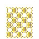 Stencil 15x20 OPA 2039 Estamparia Anéis