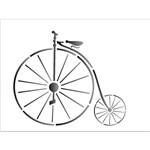 Stencil 15x20 OPA 1312 Bicicleta