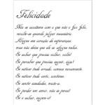 Stencil 15x20 OPA 1150 Poema Felicidade