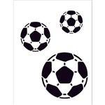 Stencil 15x20 OPA 161 Bolas de Futebol