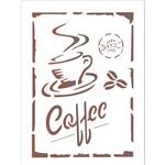 Stencil 15x20 OPA 1753 Coffee