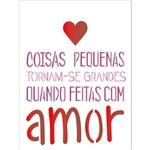 Stencil 15x20 OPA 1754 Frase com Amor
