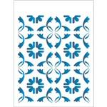 Stencil 15x20 OPA 1884 Estamparia Azulejo