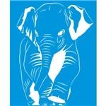 Stencil 17,2x21,1 Elefante Stm-311 - Litoarte