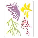 Stencil de Acetato para Pintura Opa 20 X 25 Cm - 2055 Corais