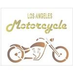 Stencil de Acetato para Pintura Opa 20 X 25 Cm - 2070 Los Angeles