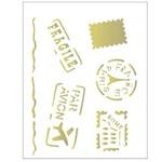 Stencil de Acetato para Pintura Opa 20 X 25 Cm - 2083 Selos e Carimbos