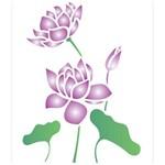Stencil de Acetato para Pintura Opa 20 X 25 Cm - 1775 Flor de Lotus