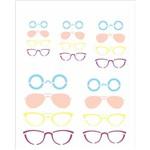 Stencil de Acetato para Pintura Opa 20x25 2365 Óculos