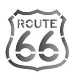 Stencil de Acetato para Pintura Opa 14 X 14 Cm - 2019 Route 66