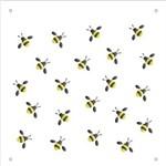 Stencil de Acetato para Pintura Opa 14 X 14 Cm - 1170 Micro Abelhas