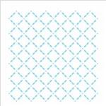 Stencil de Acetato para Pintura Opa 14x14 2333 Estamparia Grade
